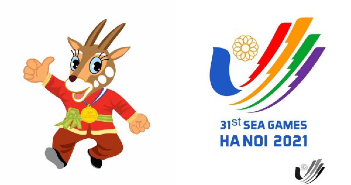 Mẫu logo và thiết kế linh vật SEA Games 31 và ASEAN Para Games 11. (Ảnh: VTV)