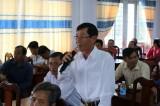 Cử tri Tân Hưng quan tâm vấn đề nông nghiệp, nông dân, nông thôn
