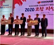 Đêm từ thiện của doanh nghiệp Hàn Quốc quyên góp gần 6 tỉ đồng