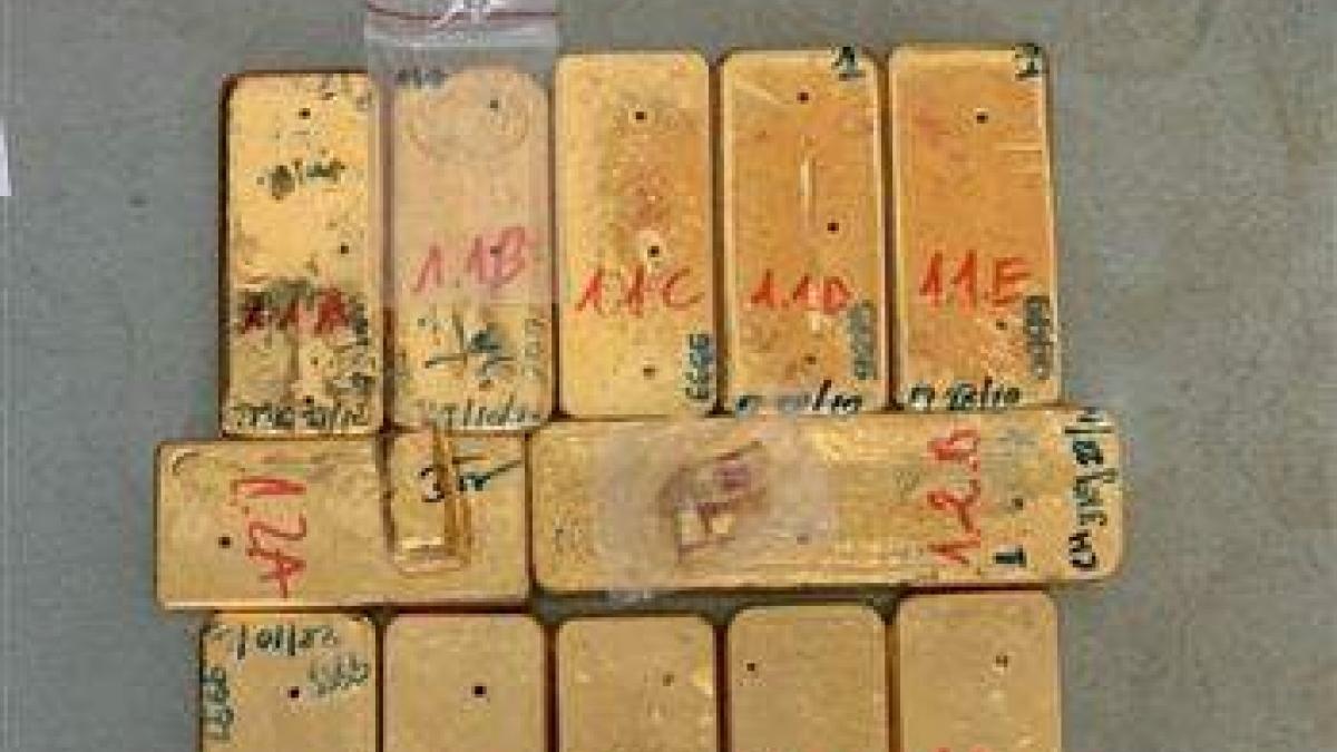 Tiếp tục bắt và truy nã các đối tượng trong vụ vận chuyển trái phép 51kg vàng. (Ảnh: KT)