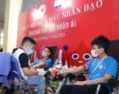 Festival trái tim nhân ái - chung tay khắc phục tình trạng thiếu máu