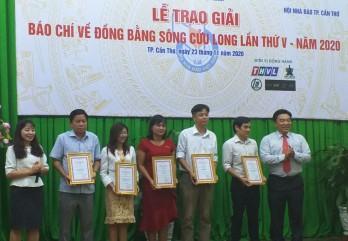 22 tác phẩm đoạt giải Báo chí về Đồng bằng sông Cửu Long lần thứ V năm 2020