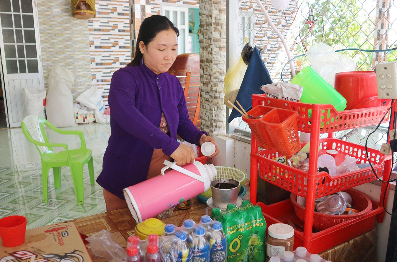 Từ nguồn vốn xoay vòng giúp hội viên phụ nữ phát triển kinh tế, ổn định cuộc sống