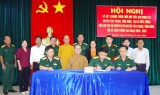 Ký kết chương trình phối hợp giữa Ban CHQS với Ban trị sự giáo hội Phật giáo liên huyện