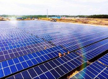 Dự án nhà máy điện mặt trời GAIA khó khăn trong thi công do vướng giải tỏa đền bù