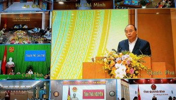 Thủ tướng Nguyễn Xuân Phúc chủ trì Hội nghị về công tác xây dựng, hoàn thiện pháp luật và thi hành pháp luật