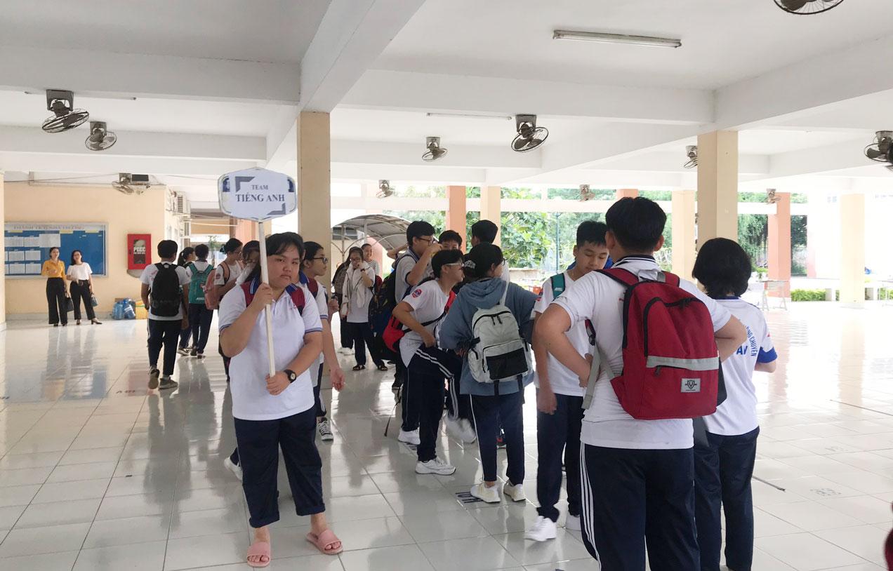 Nhóm tham gia Câu lạc bộ Tiếng Anh