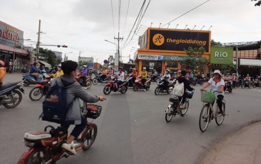 Thị trấn Bến Lức: Trật tự, an toàn giao thông chưa bảo đảm