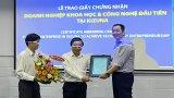 Kizuna trao giấy chứng nhận doanh nghiệp khoa học công nghệ đầu tiên