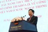 Công tác về người Việt Nam ở nước ngoài là một trụ cột đối ngoại