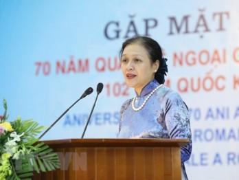 Giao lưu kỷ niệm 70 năm thiết lập Quan hệ ngoại giao Việt Nam-Romania