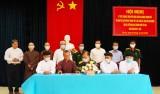 Tăng cường mối đoàn kết giữa lực lượng vũ trang TP.Tân An với đồng bào tôn giáo
