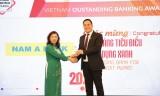 """Nam A Bank tiếp tục nhận giải thưởng """"Ngân hàng tiêu biểu về tín dụng xanh"""" năm 2020"""
