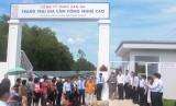 San Hà được Hiệp hội chăn nuôi gia cầm gắn biển thành viên