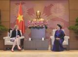 Chủ tịch Quốc hội Nguyễn Thị Kim Ngân tiếp các Đại sứ đến chào từ biệt
