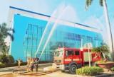 VWS phối hợp với Công an huyện Bình Chánh tổ chức diễn tập phòng cháy, chữa cháy