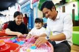 Cho trẻ trải nghiệm những khoảnh khắc tuyệt vời tại Khu vui chơi Nhà sách Trung Tâm