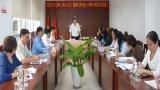 Thường trực Tỉnh ủy Long An làm việc với Ban Thường vụ Hội Liên hiệp Phụ nữ Việt Nam tỉnh