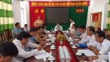 Sở Nông nghiệp và Phát triển nông thôn Long An làm việc tại Tân Trụ