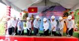 TP.Tân An: Khởi công dự án Kè sông Bảo Định