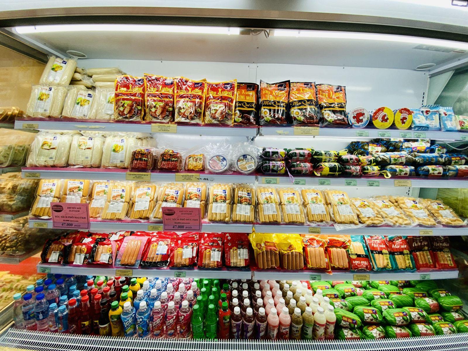 F&B brand foods of San Ha