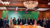 Việt Nam - Campuchia trao đổi Nghị định thư phân giới cắm mốc