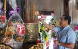 Dâng hương tưởng niệm 24 năm ngày mất luật sư Nguyễn Hữu Thọ