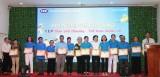 Tổ chức tài chính vi mô CEP chi nhánh Tân An hỗ trợ hoạt động cộng đồng hơn 1 tỉ đồng