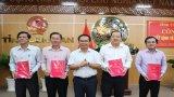 Tỉnh ủy, UBND tỉnh Long An trao quyết định điều động, bổ nhiệm cán bộ