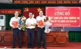 Ông Phạm Xuân Bách giữ chức vụ Bí thư Thị ủy Kiến Tường