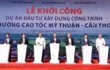 Thủ tướng phát lệnh khởi công dự án đường cao tốc Mỹ Thuận - Cần Thơ