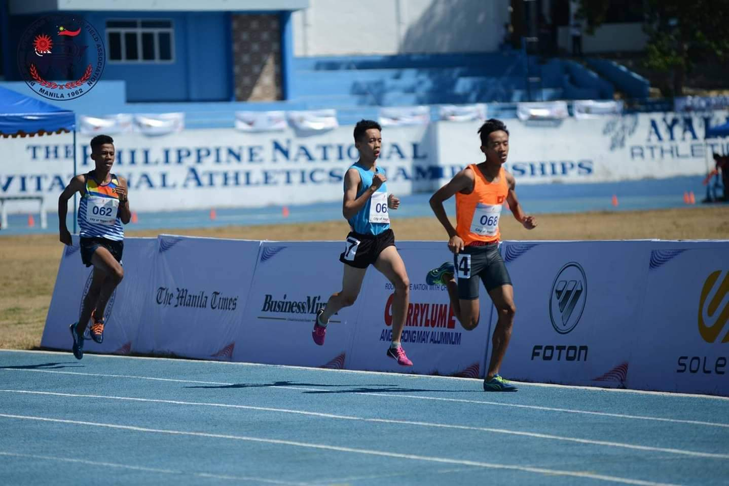 Vận động viên Nguyễn Thanh Sang trên đường đua