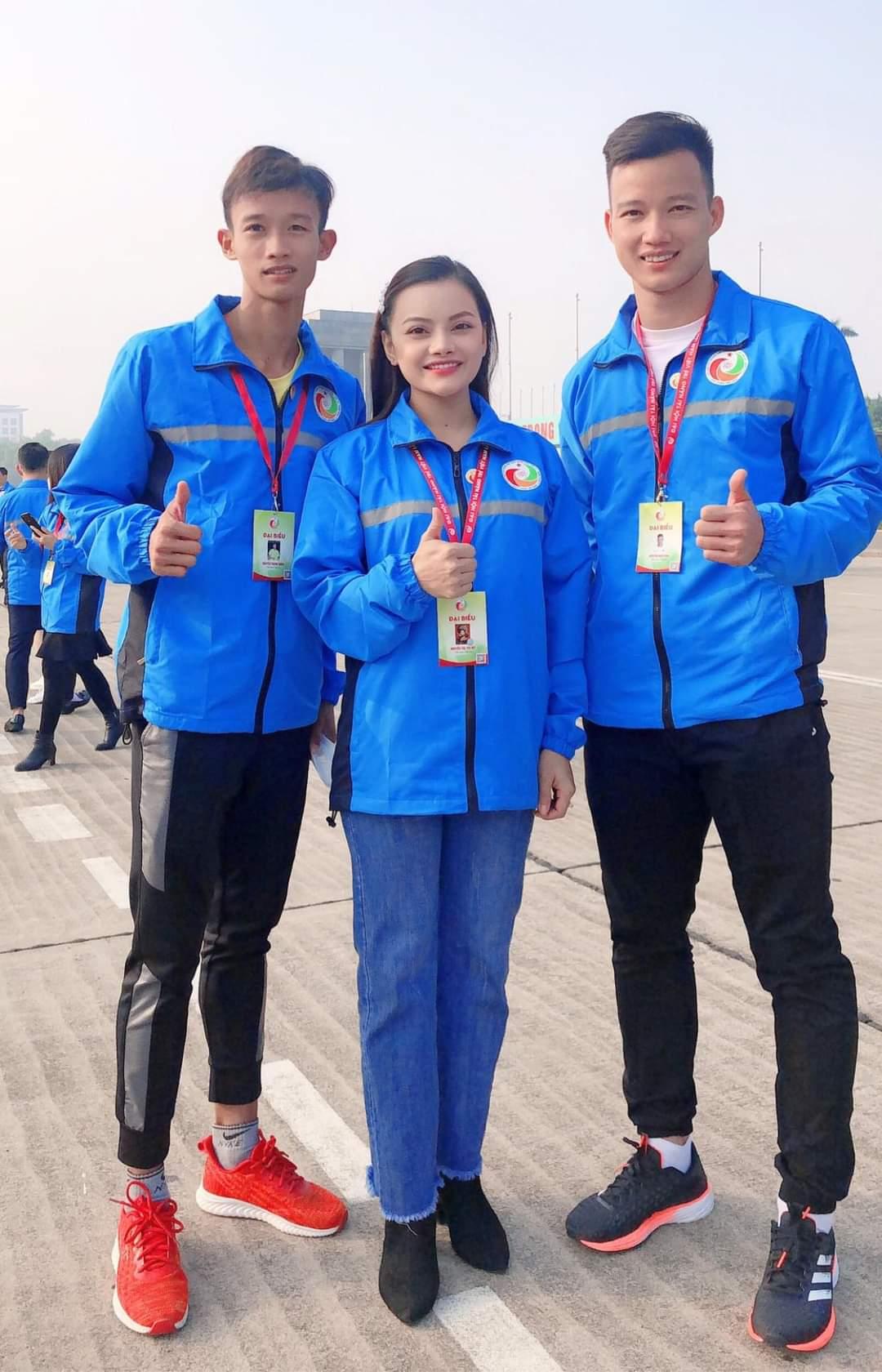 Nguyễn Thanh Sang và Nguyễn Hoài Văn tại Đại hội Tài năng trẻ Việt Nam lần thứ 3