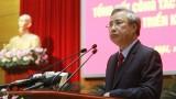 Ông Trần Quốc Vượng chủ trì họp Tiểu ban phục vụ Đại hội XIII của Đảng