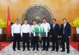Vietcombank tài trợ 13 tỉ đồng xây dựng phù điêu Châu Văn Liêm