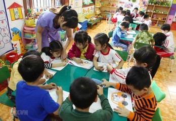 Action programme to promote all-round development of children