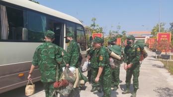 Tăng cường hơn 100 cán bộ, học viên Học viện Biên phòng về biên giới Long An phòng, chống dịch Covid - 19