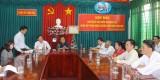 Thạnh Hóa: Họp mặt cán bộ kiểm tra huyện nhân dịp nhận Huân chương Lao động hạng Nhì
