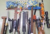 Công an huyện Đức Hòa bắt nhiều vụ vận chuyển, sử dụng pháo nổ trái phép