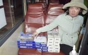 Xe khách vận chuyển hơn 9.200 bao thuốc lá ngoại