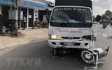 An Giang: Tài xế xe tải ngủ gật gây tai nạn làm 6 người bị thương