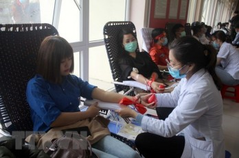 Committee targets collecting over 1.5 million blood units in 2021