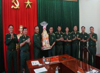Phó Tư lệnh Biên phòng kiểm tra phòng, chống dịch Covid - 19 tại Long An