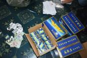 Công an huyện Cần Đước triệt xóa 1 điểm đánh bạc