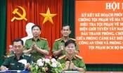 Phối hợp đấu tranh phòng, chống ma tuý các tỉnh biên giới tuyến Tây Nam