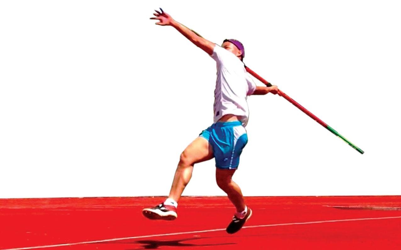 Để có được thành tích trong  thi đấu, Hoài Văn phải nỗ lực không ngừng qua từng buổi tập