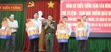 Bộ Tư lệnh Quân khu 7 chúc tết địa phương và lực lượng vũ trang các huyện biên giới