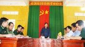 Phó Chủ tịch UBND tỉnh Long An - Phạm Tấn Hoà kiểm tra tình hình phòng, chống Covid-19 trên tuyến biên giới
