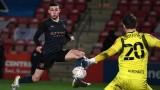 Sao trẻ tỏa sáng, Man City ngược dòng tiến bước vào vòng 5 FA Cup