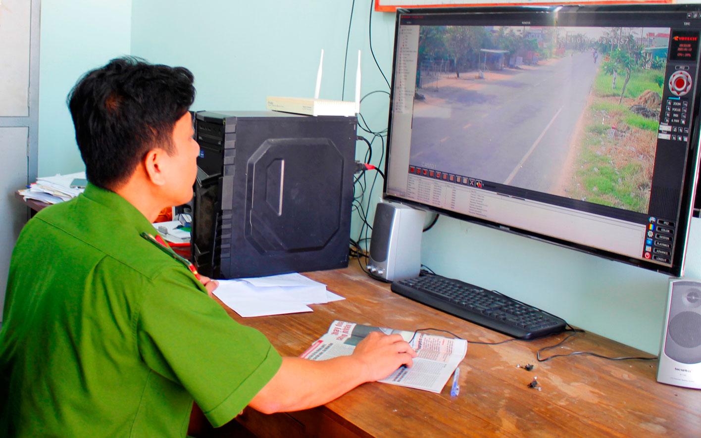Thông qua mô hình Camera giám sát an ninh, trật tự giúp lực lượng công an giải quyết nhiều vụ việc liên quan đến an toàn giao thông, trộm, cướp tài sản